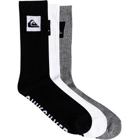 Quiksilver Crew Socks 3 Pack Assorted